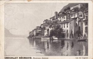 CHOCOLAT SECHAUD ; Montreaux (Suisse) , Lac de Lugano , 00-10s