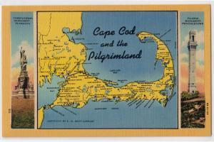 Map, Cape Cod MA