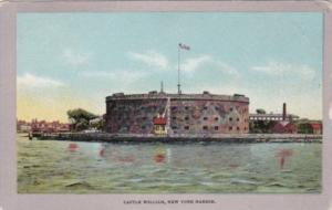 New York City Castle William New York Harbor