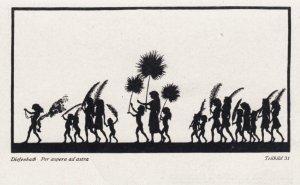 DIEFENBACH : Fantasy Silhouette , 00-10s ; Teilbild 31