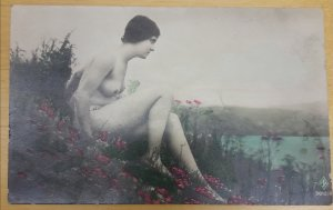 Old nude card from 1920´s