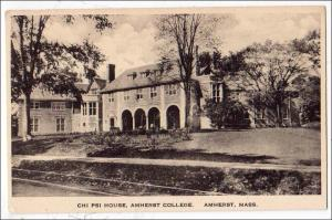 Chi Psi House, Amherst College, Amherst MA