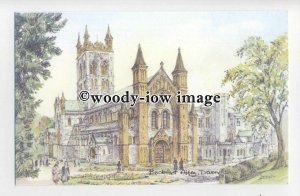 DS0156 - Devon - Buckfast Abbey, Artist - David Skipp - postcard