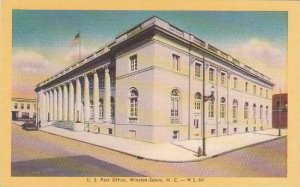 North Carolina Winston Salem U S Post Office Albertype