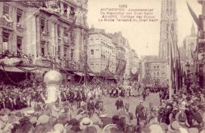 1923 ANTWERPEN JUWEELENSTOET DE WERELDBOL VAN SHAH NADIR