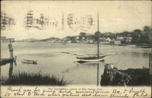 Fair Haven East New Haven CT Suburb 1913 Used Postcard