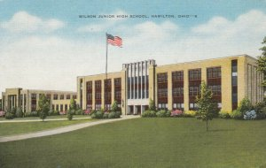 HAMILTON, Ohio, 1930-40s; Wilson Junior High School