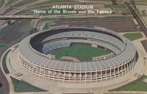 ATLANTA , Georgia , 50-60s ; Stadium , Home of Braves & Falcons
