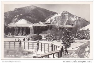 The Lodge Sun Valley Idaho 1952 Real Photo
