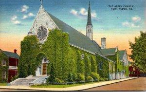 Pennsylvania Huntingdon The Abbey Church