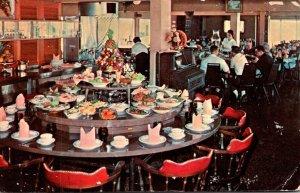 Mississippi Biloxi West Beach Cabana Beach Motel Sea-N-Sirloin Restaurant 1968