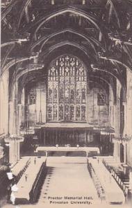 Proctor Memorial Hall Princeton New Jersey Albertype 1923