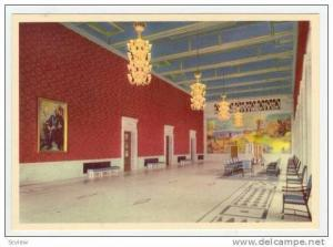 Norway, 50-60s  City Hall, OSLO, Banquenting Hall