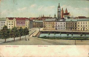 Czech Republic - Hradec Králové Eliscino nabrezi 02.33