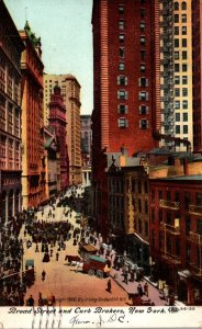 New York City Broad Streets and Curb Brokers 1909