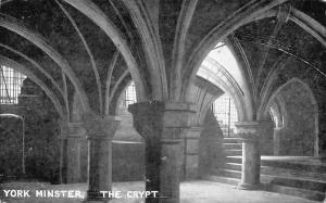 York Minster The Crypt