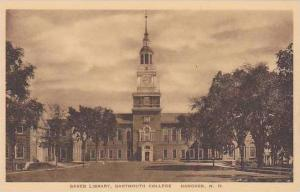 New Hampshire Hanover Baker Library Dartmouth College Albertype