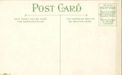 Madison Square Garden, New York City 1903 unused Postcard