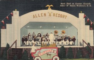 WOLFEBORO , New Hampshire, 1951 ; Band Stand, Allen A Resort