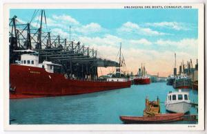 Unloading Ore Boats, Conneaut OH
