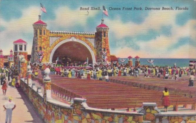 Florida Daytona Beach Band Shell Ocean Front Park