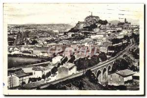 Old Postcard Le Puy taking view