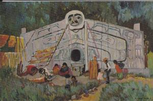 Painting: House Front , Gold Harbour , Artist Emily Carr, Art Gallery , Van...