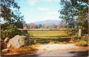 Grand Monadnock     New Hampshire,  postcard