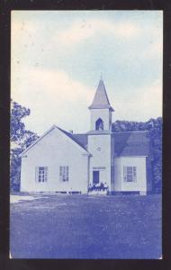 CEDAR BAYOU LOUISIANA CHURCH BUILDING ANTIQUE VINTAGE POSTCARD LA
