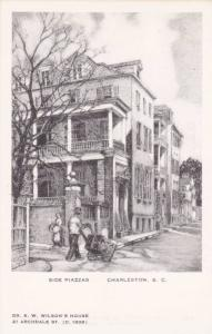 Charleston , South Carolina, 30-40s; Elizabeth O´Neill Verner; Side Piazzas