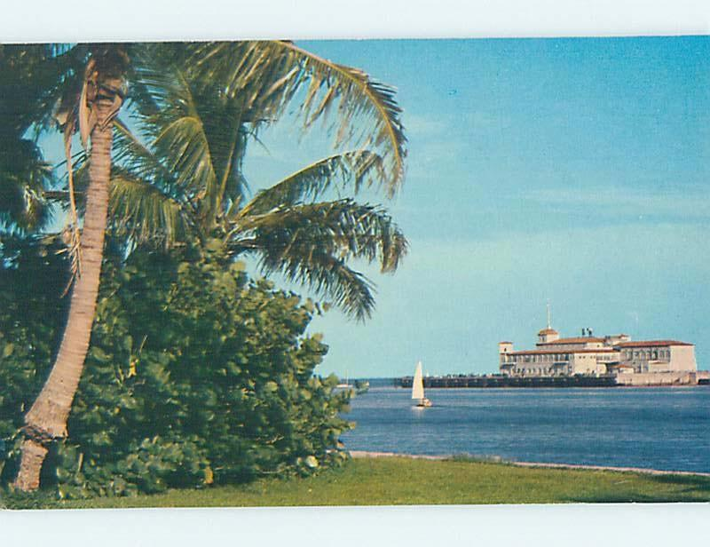Pre-1980 PIER SCENE St. Petersburg Florida FL hp4962