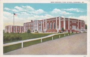 New Hannibal High School Hannibal Missouri Curteich