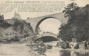 PIERRE-PERTHUS (Yonne) , France , 1900-10s ; Les Deux Ponts