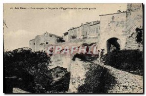Old Postcard The Leases Eguieres of pore Remparts of the guard