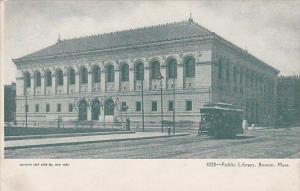 Public Library Boston Massachusetts