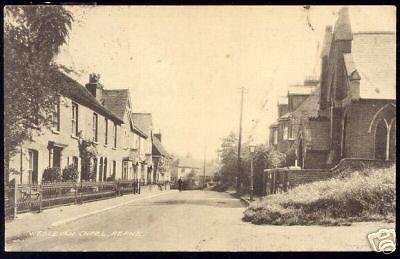 kent, HERNE, Wesleyan Chapel, Street Scene (1924)