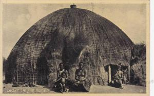 Topless Zulu Ladies At Home, Cape Town, South Africa, 1910-1920s