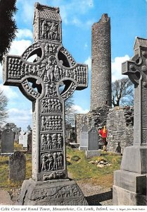 Celtic Cross and Round Tower, Monasterboice Louth Ireland Postal Used Unknown