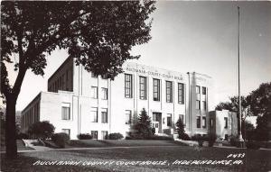 B3/ Independence Iowa Ia Photo RPPC Postcard c1950 Buchanan County Court House