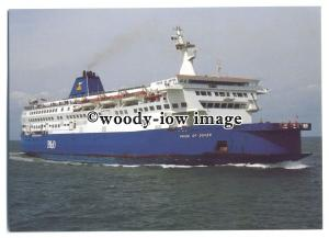 FE1124 - P&O Ferry - Pride of Dover , built 1987 - postcard