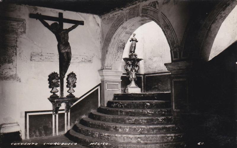 RP  Convento , Churubusco, Mexico   Patio, 00-10s