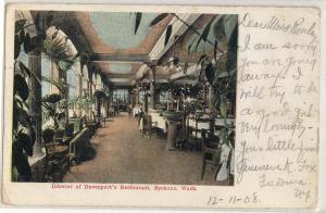 Interior Davenport's Restaurant, Spokane WA