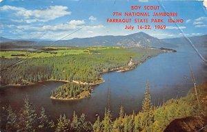 Boy Scout seventh national jamboree Farragut State Park, Idaho, USA Scouting ...