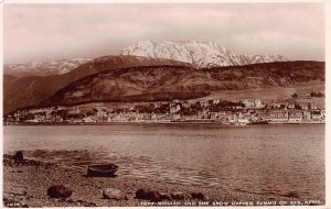Fort William and the Snow Capped Summit of Ben Nevis, Scotland, Postcard, Unused