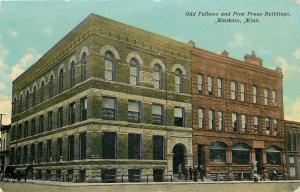 Mankato Minnesota~Odd Fellows~Free Press Building~Basement Barber Shop~1912 PC
