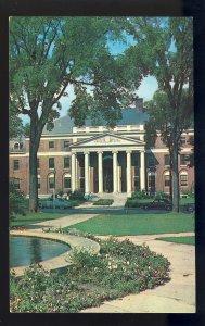Burlington, Vermont/VT Postcard, Waternan Building, University Of Vermont, UV