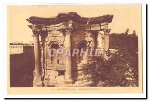 Syria Baalbek Old postcard Venus temple