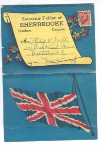 Souvenir Folder 20-Views Of Sherbrooke, Quebec, Canada, PU-1946