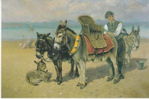 Post Card THE DONKEY BOY by William Woodhouse