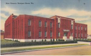 New Armory, Newport News, Virginia, 30-40s